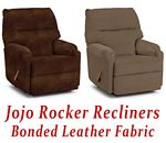 Jojo Rocker Recliner in Bonded Leather