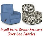 Ingall Swivel Rocker Recliner