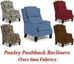 Pauley Three-Way Pushback Recliner