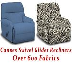 Cannes Swivel Glider Recliner