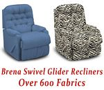 Brena Swivel Glider Recliner
