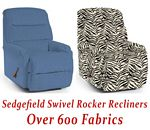 Sedgefield Swivel Rocker Recliner