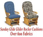 Glider Rocker Cushions for Sunday Glide Chair