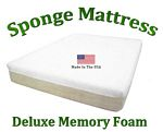 Deluxe Twin Sponge Mattress Memory Foam 10