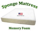 Twin Sponge Mattress Memory Foam 8