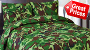 Camouflage Bedspread