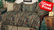 Camo and Camouflage Daybed Covers