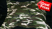 Camo and Camouflage Pillow Shams