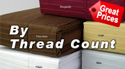 Egyptian Cotton Sheets By Thread Count