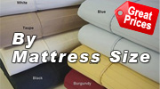 Egyptian Cotton Sheets By Size