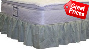 California Queen Bed Skirts