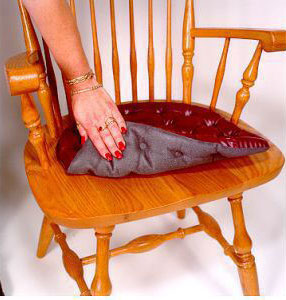 Kitchen Chair Pads Vinyl 15 Wide By 14 Deep With 1 2 Inches Of