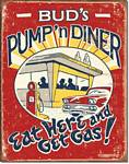 Schonberg - Pump 'n Diner Tin Sign