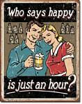 Schonberg - Happy Hour Tin Sign