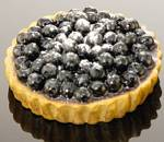 Fake Food Blueberry Tart