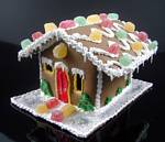 Fake Food Gingerbread Candy House
