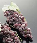 Fake Food Grapes Champagne Purple Mini - One Bunch