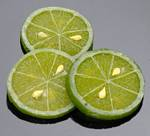 Fake Food Deluxe Lime Slice (pack of 3)