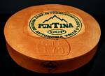 Fake Food Large Fontina Cheese Wheel