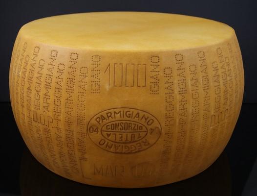 Fake Food Jumbo Parmesan Cheese Wheel