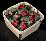 Fake Food Raspberries Basket