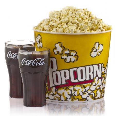 Fake Food Popcorn Amp Cola Glass Assortment