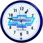 Chevy Trucks Neon Clock