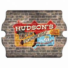 Vintage Personalized Roadhouse Pub Sign
