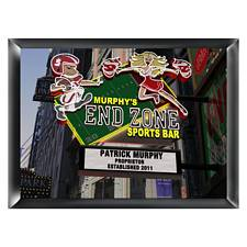 Personalized Marquee End Zone Sports Bar Traditional Sign
