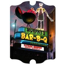 Personalized Marquee BBQ Vintage Sign