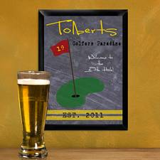 Personalized Golf Tavern Sign