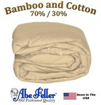 Bamboo Duvet Cover Three Quarter Beige Color