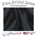 Satin Duvet Cover Three Quarter Size Black Color