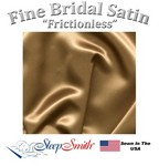 Satin Duvet Cover Three Quarter Size Bronze Color