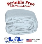 Wrinkle Less Duvet Cover Queen Size Cloud Blue Color
