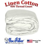 Linen Duvet Cover XL Full Size Eggshell Color
