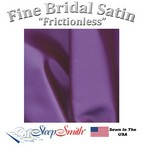 Satin Duvet Cover Three Quarter Size Purple Color