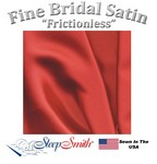 Satin Duvet Cover Twin Size Red Color