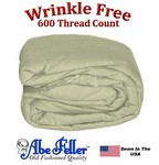 Wrinkle Less Duvet Cover Queen Size Sage Green Color