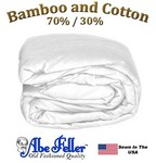 Bamboo Duvet Cover XL Full White Color