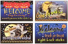 Halloween Humor Canvas Set of 4