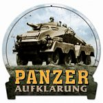Panzer Metal Sign
