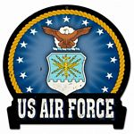 Air Force Metal Sign