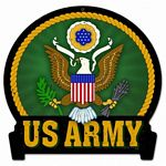 Army Metal Sign