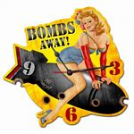 Bombs Away Metal Sign