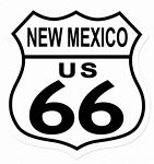 Route 66 New Mexico Metal Sign