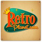 RetroPlanet Metal Sign