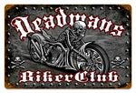 Deadmans Bike Vintage Metal Sign