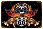 Route 66 Eagle Vintage Metal Sign