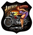 American Classics Metal Sign